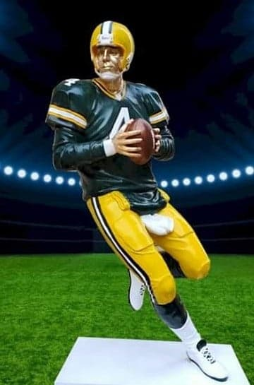 "Brett Favre ""The Gunslinger"" by Tommy Zegan"