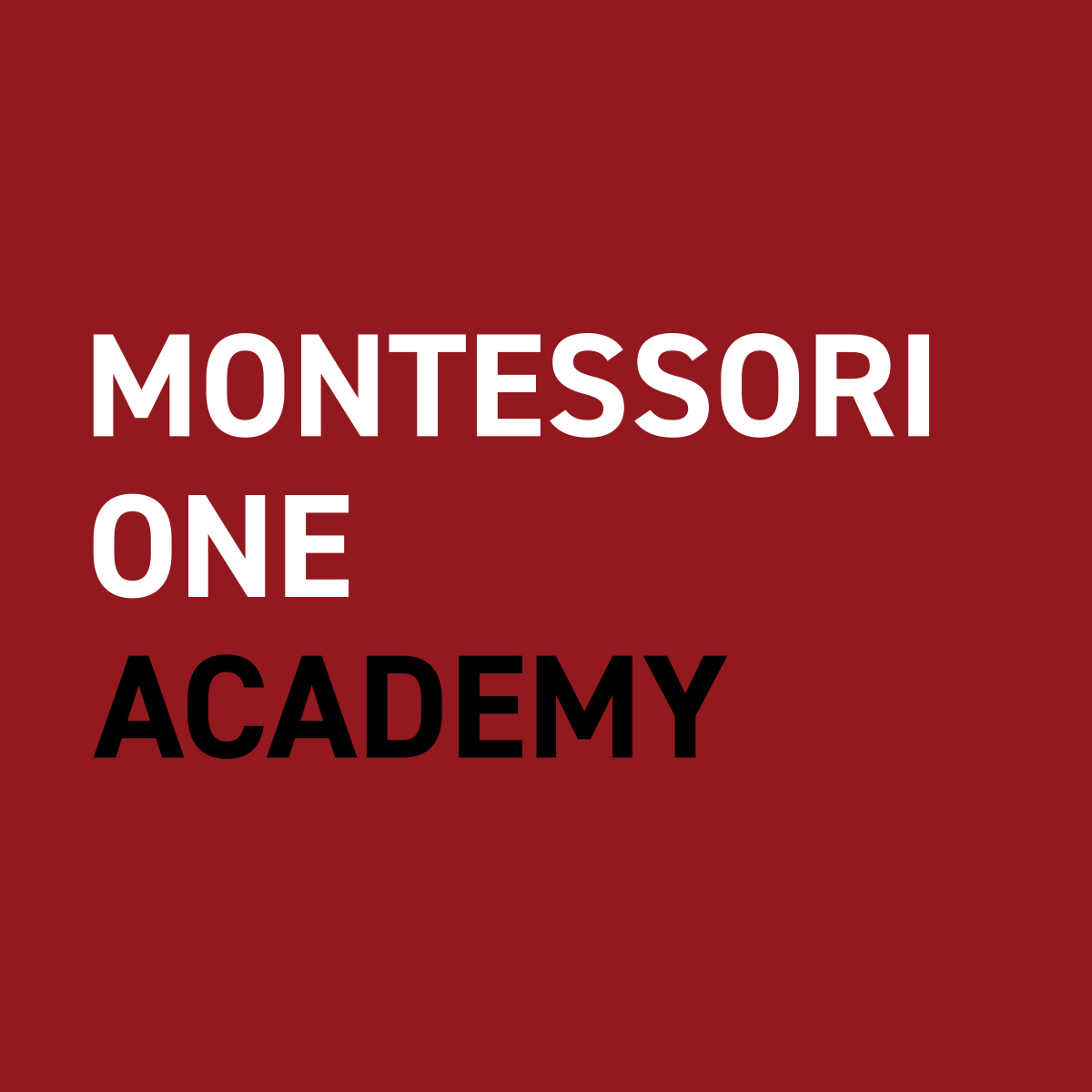Montessori ONE Academy Logo