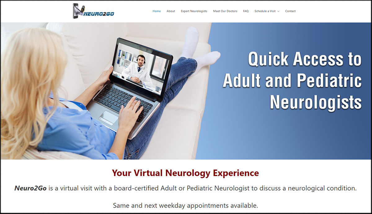 Neuro2go.com - Virtual Neurologist Visit