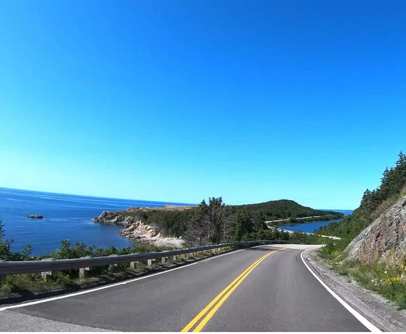 Ride the Cabot Trail Hills